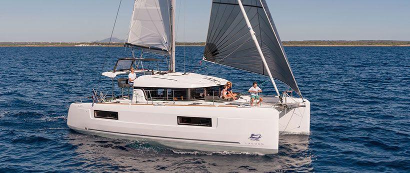 Lagoon 40 Catamaran Charter Italy Main