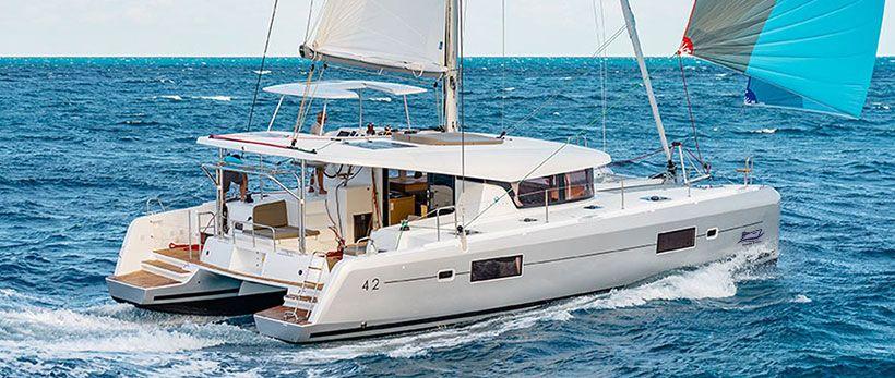 Lagoon 42 Catamaran Charter Italy Main