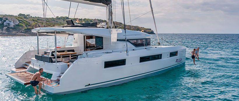 Lagoon 50 Catamaran Charter Italy Main