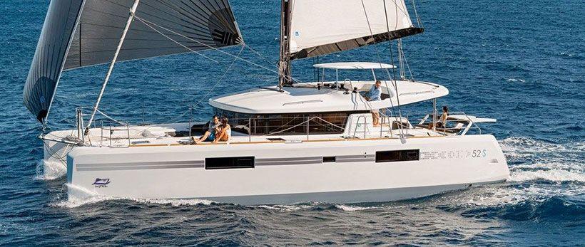 Lagoon 52 Catamaran Charter Italy Main