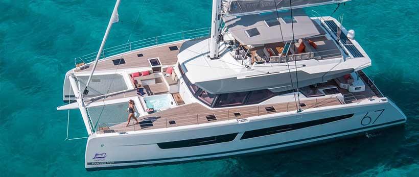 Alegria 67 Fountaine Pajot Catamaran Charter Italy Main