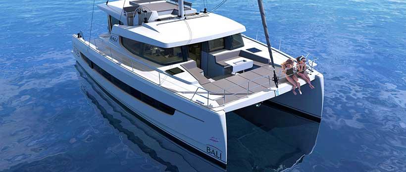 Bali 4.8 Catamaran Charter Italy Main