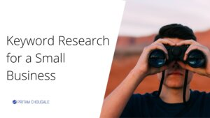Keyword Research for a Small Business