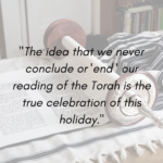 The True Celebration of Simhat Torah