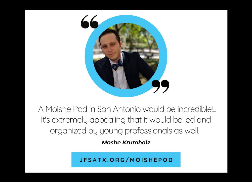 Young Adults Talk Moishe Pod: Moshe Krumholz