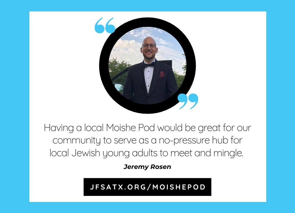 Young Adults Talk Moishe Pod: Jeremy Rosen