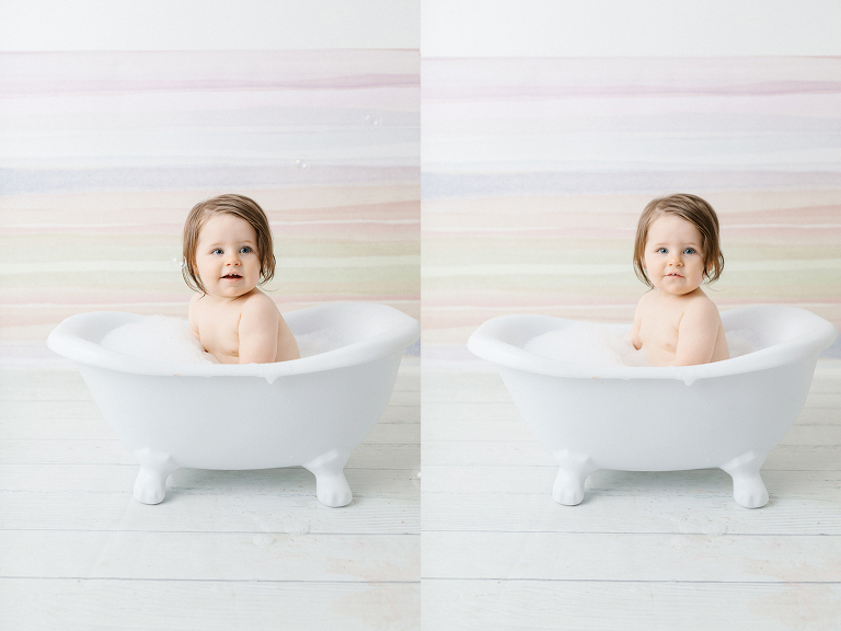 Carine Milk Bath Photography