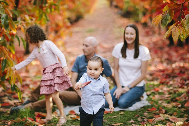 Raeburn Orchard Family Photography