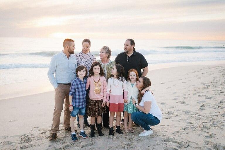 City Beach Extended Family Photographer