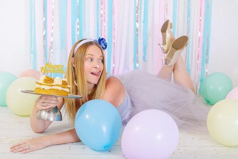 40th Birthday Cake Smash