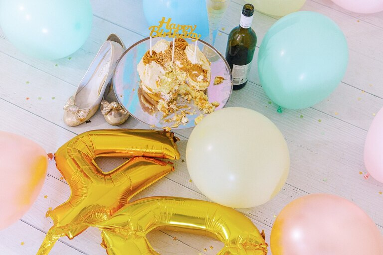 40th Birthday Cake Smash40th Birthday Cake Smash