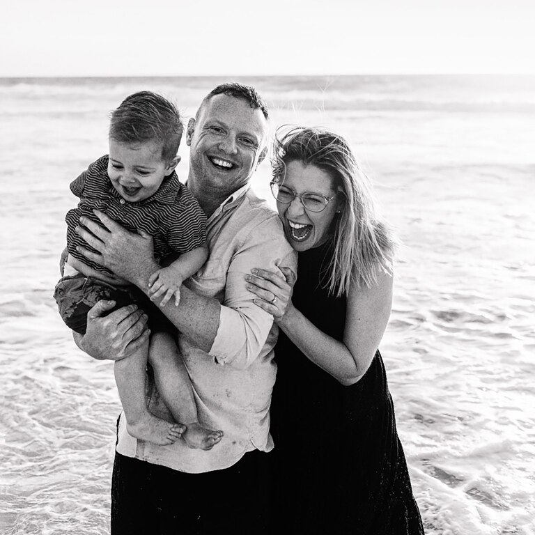 City Beach Family Photoshoot