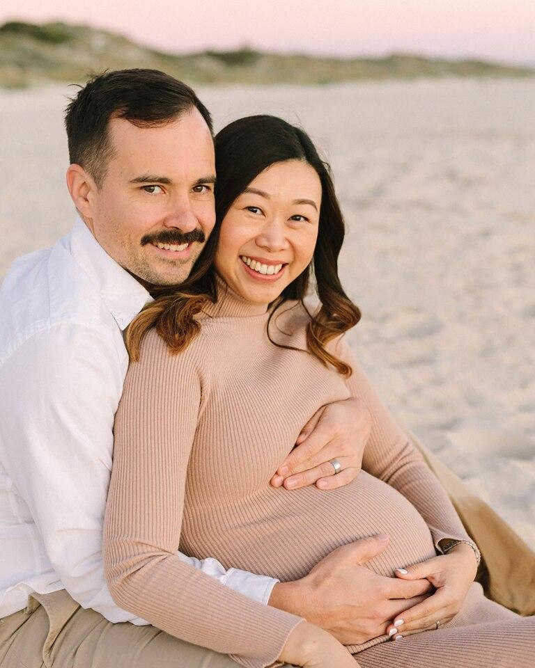 City Beach Maternity Photography