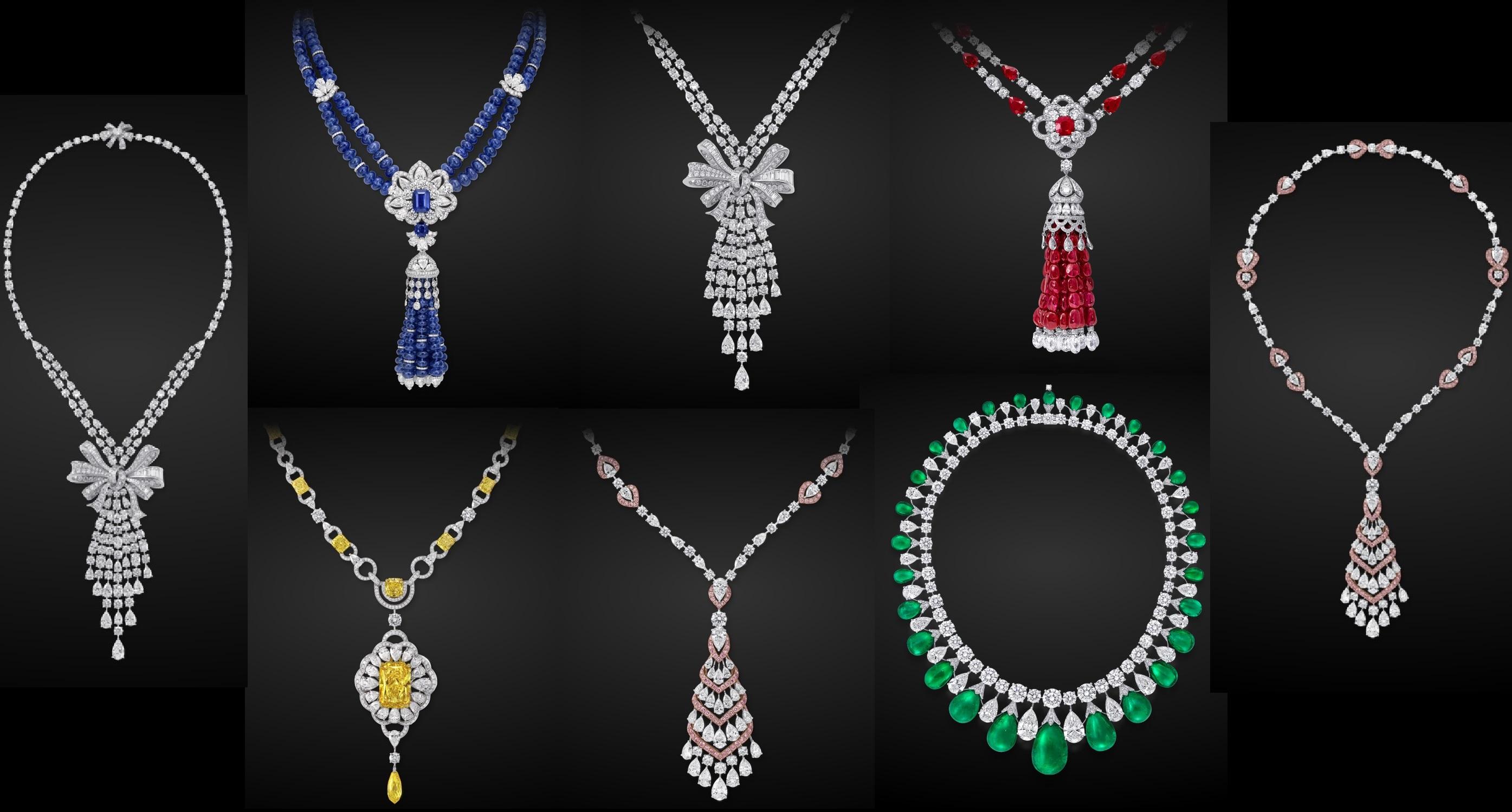 Spectacular Gemstone and Diamond Necklaces by Graff Diamonds