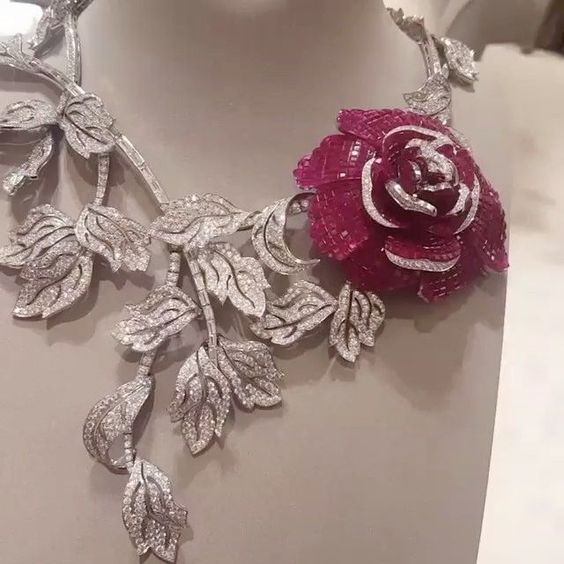 Ruby and Diamond Necklace by Van Cleef & Arpels