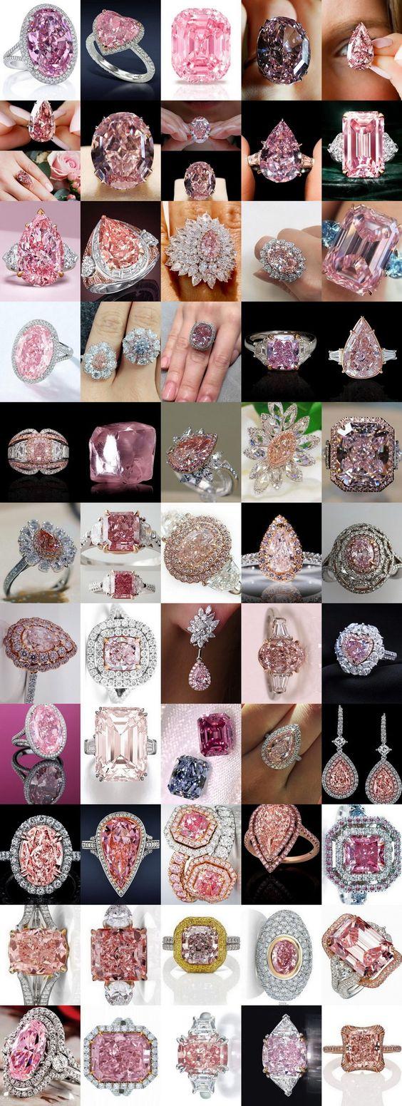 Pink Diamond Rings