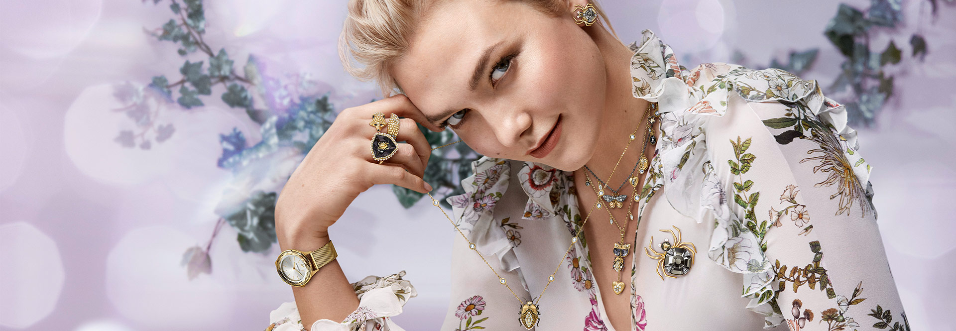 New Winter Collection Swarovski introduces Tales of the Forest, a mystical winter collection of nature-inspired jewelry.