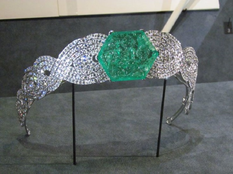 Cartier Emerald and Diamond Tiara