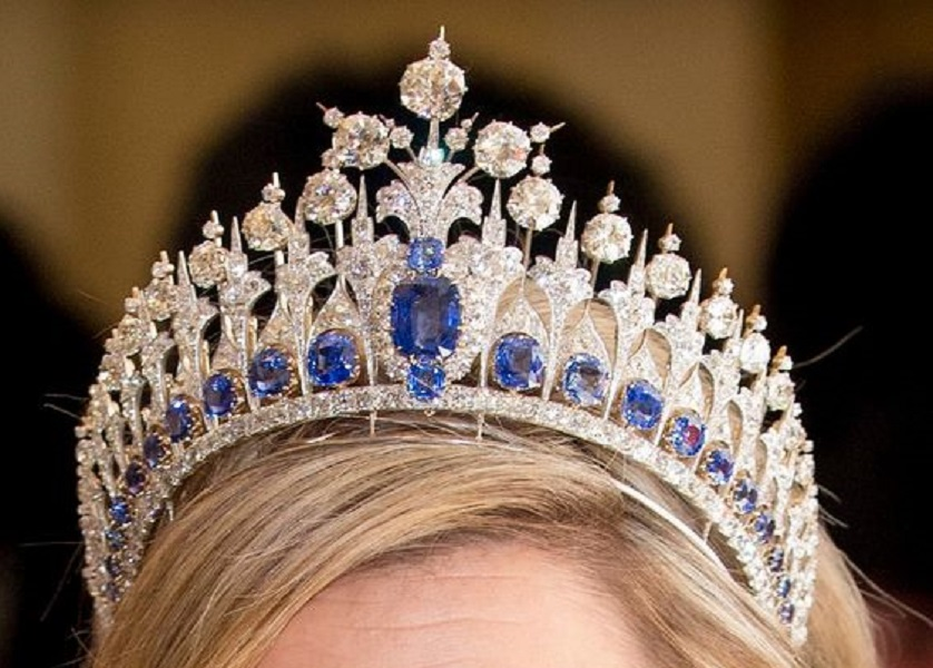 Queen Maxima recycles her inauguration gown for Danish state banquet