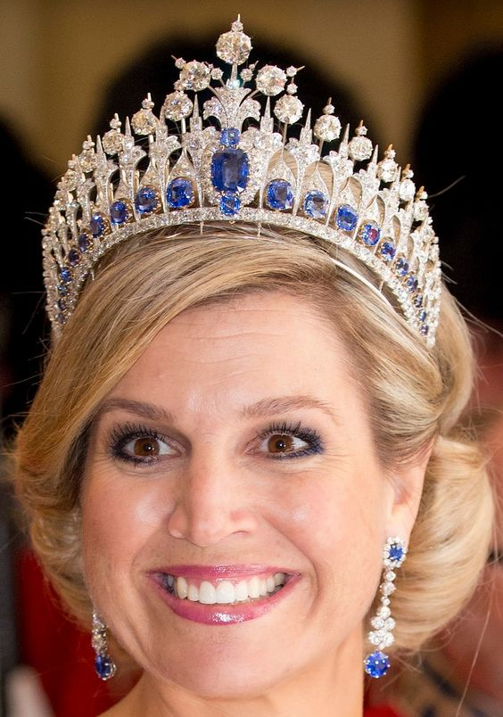 Queen Maxima and King Willem-Alexander in high spirits as they join Crown Prince Frederik and Crown Princess Mary at a state banquet in their honor in Denmark