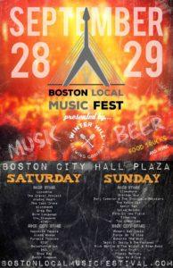 Boston Local Music Festival 2019 @ Boston City Hall Plaza