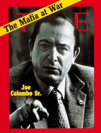 Mob Godfather Colombo murdered