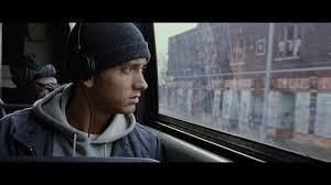 Eminem in the 2002 film 8 Mile