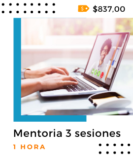 1 Hora - Mentoria 3 sesiones - eLyT Group