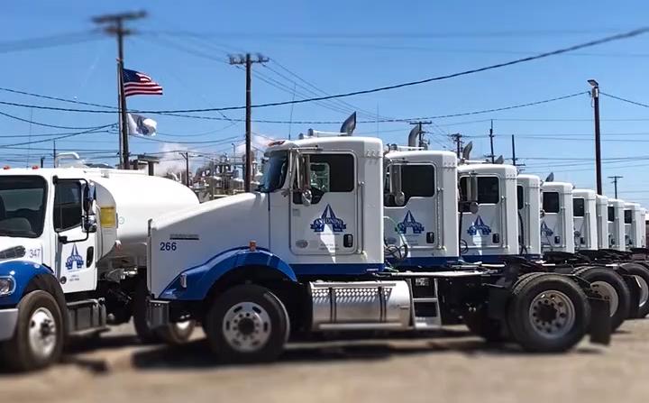 trucks flag modesto terminal
