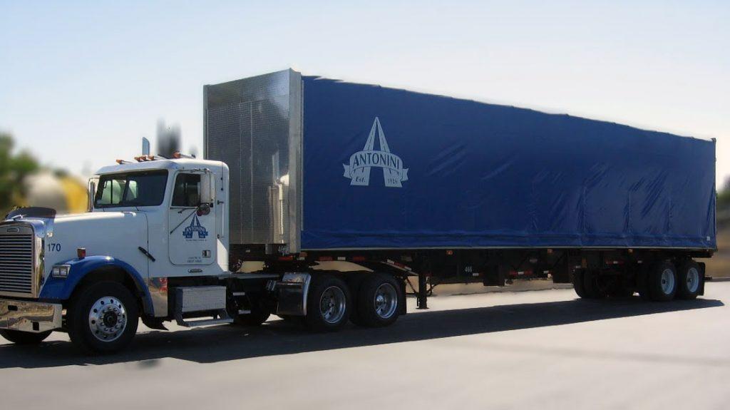 Freightliner Truck and Curtain Van