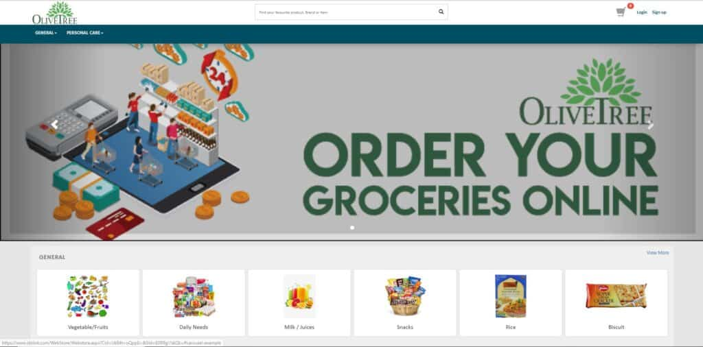 ecommerce store creation with idzlink cloud pos