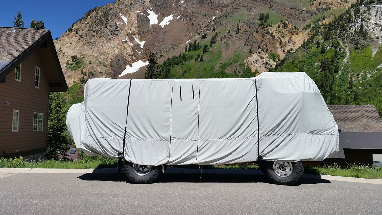 Custom RV covers