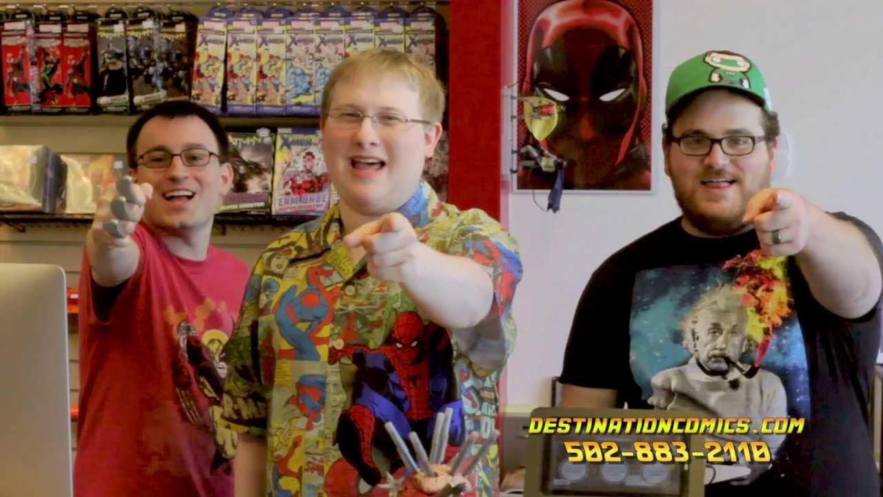 Destination Comics 30 Sec Commercial