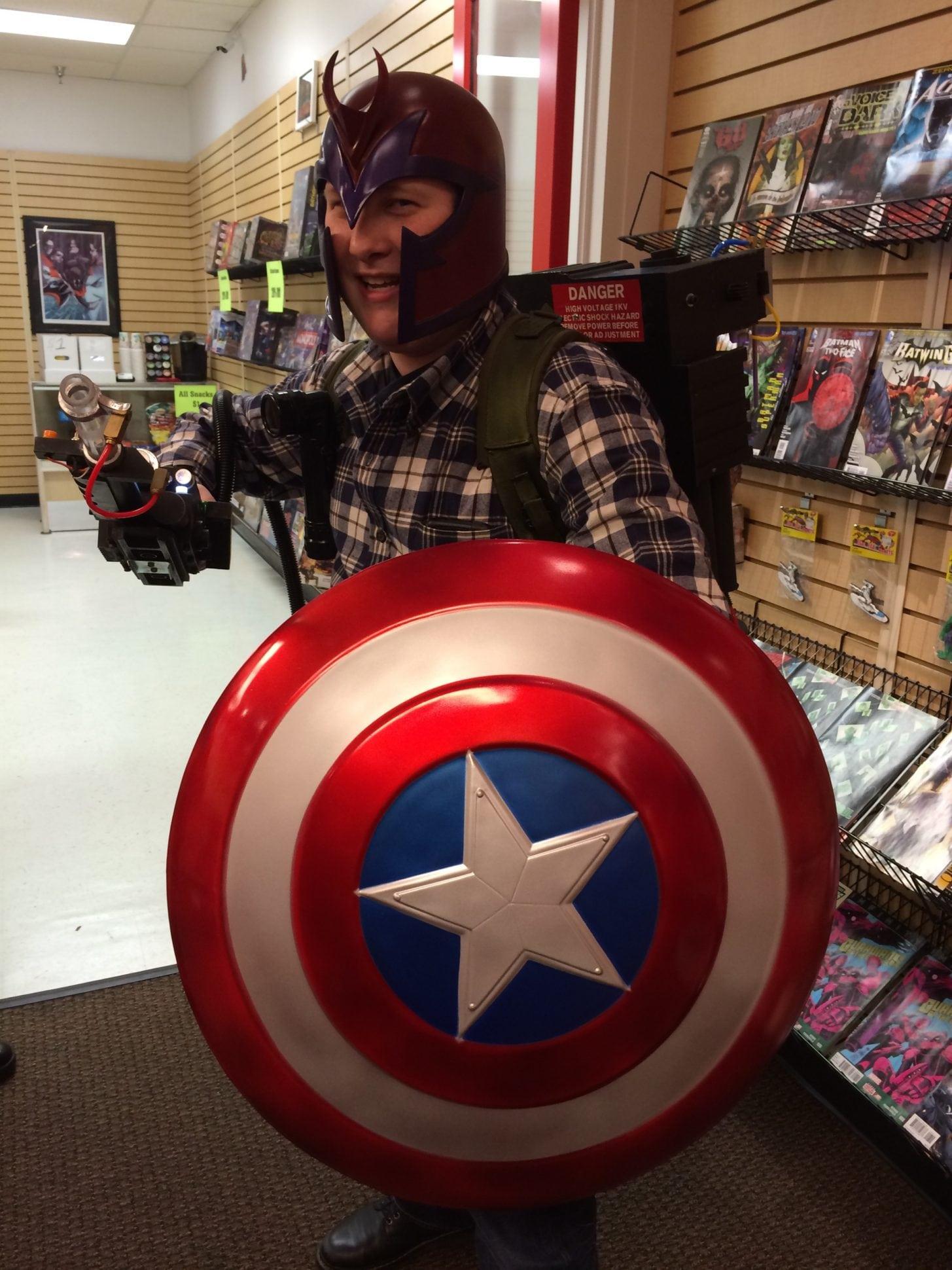 Captain Magneto Buster 2