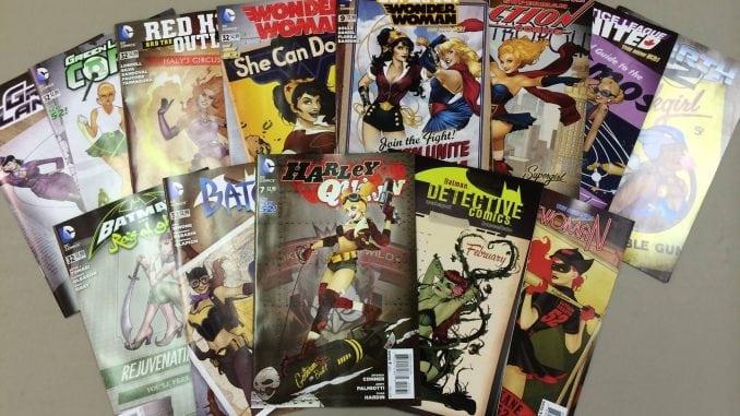 DC Bomdshell Covers