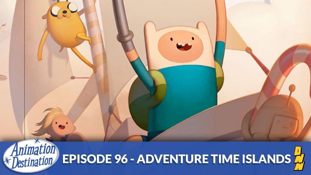 Adventure Time Islands