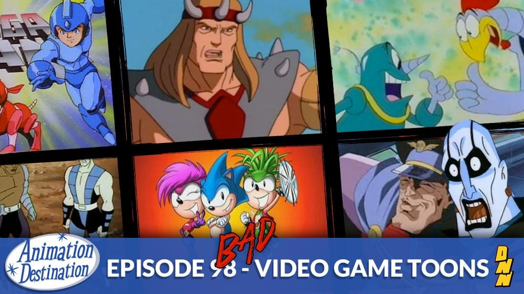 Bad Video Game Cartoons