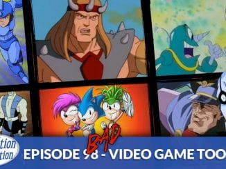 Bad Video Game Cartoons