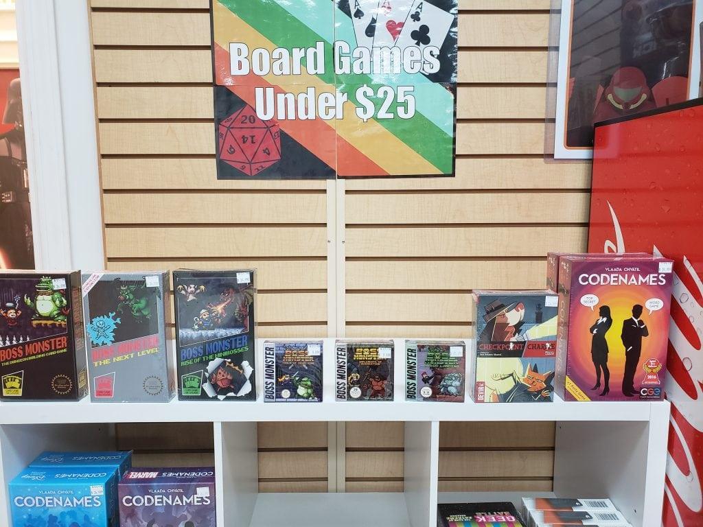 Games Under 25 Dollars