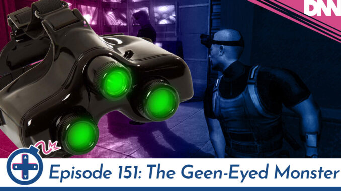 splinter cell screen cap and night vision goggles