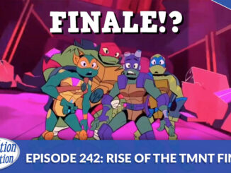 Donnie, Mikey, Leo, Raph looking surprised