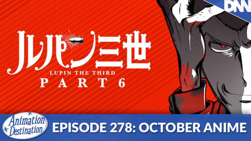 a promo pic of Lupin III Part 6