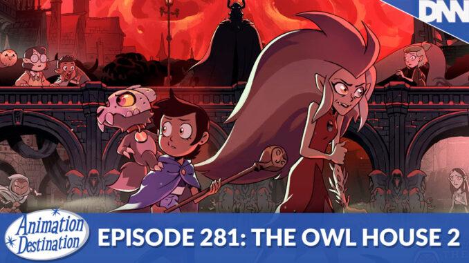 Luz, Eda and King form Owl House Season 2 promotional art
