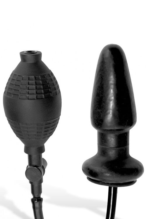 "Master Series Inflatable 5"" Anal Plug"
