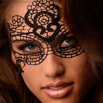 GreyGasms Intricate Lace Mask