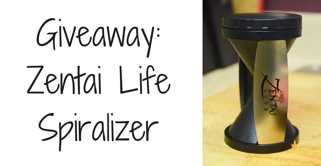 Giveaway: The Zentai Spiralizer