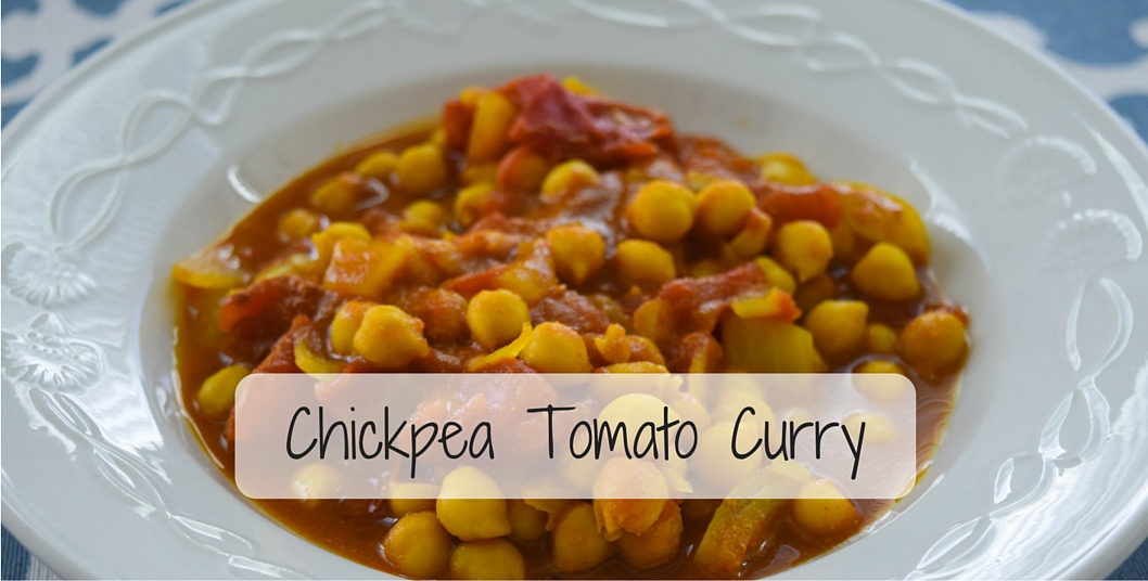 Chickpea Tomato Curry (And How I Get My Vacation Paid For)