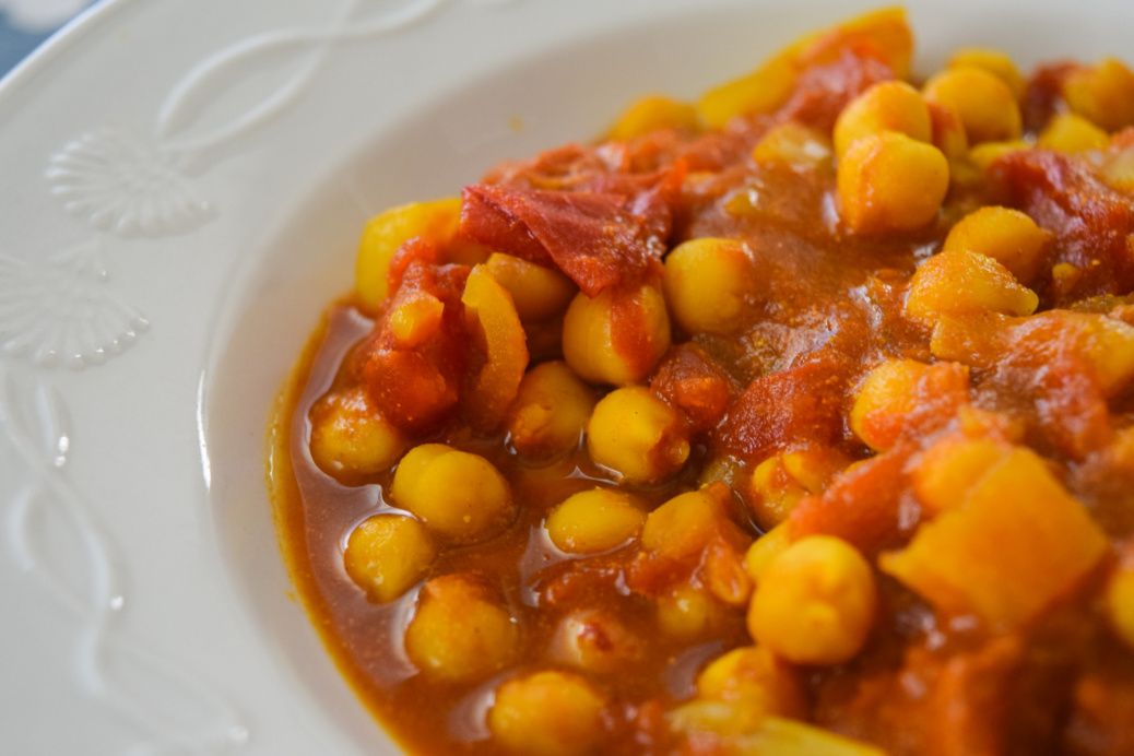 Chickpea Tomato Curry