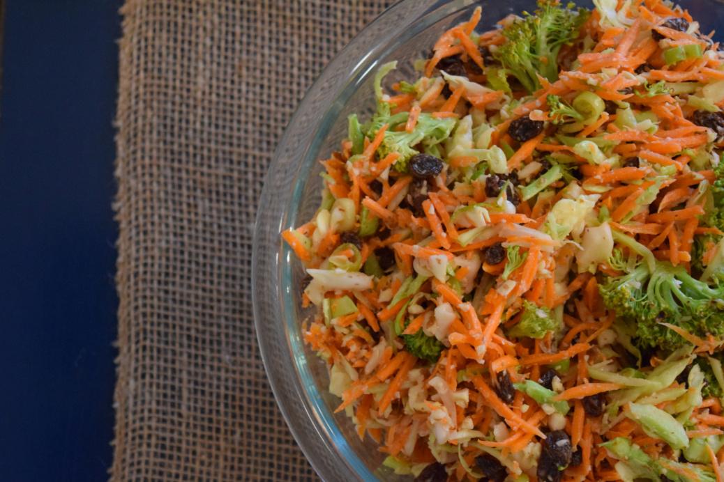 Broccoli Carrot Salad