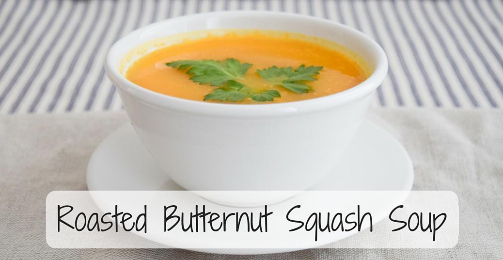 AIP Roasted Butternut Squash Soup (Paleo/Vegan)